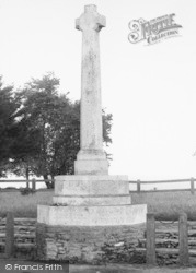 Cobham, The Memorial c.1955