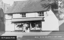Cobham, The Old Shop c.1955