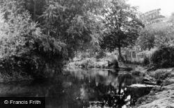 Cobham, The River c.1955