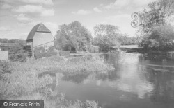 Cobham, The River Mole And The Mill c.1960