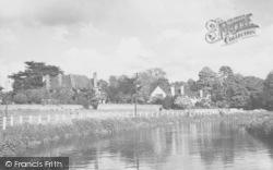 Cobham, The River Mole c.1955
