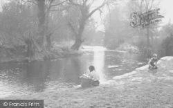 Cobham, The River Mole c.1960