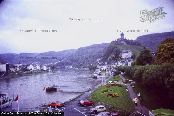 Photo of Cochem, River And Castle c.1985