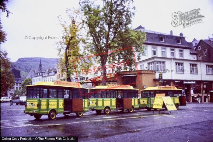 Photo of Cochem, Tourist Train c.1985