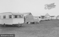 Bank End Caravan Site c.1965, Cockerham