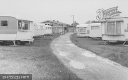 Cockerham Sands Caravan Site c.1965, Cockerham