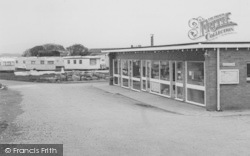 Cockerham Sands Caravan Site, The General Store  c.1965, Cockerham