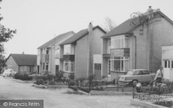 Rectory Gardens c.1965, Cockerham