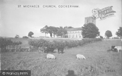 St Michael's Church c.1935, Cockerham