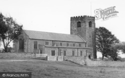 St Michael's Church c.1955, Cockerham