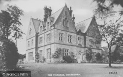 The Vicarage c.1935, Cockerham