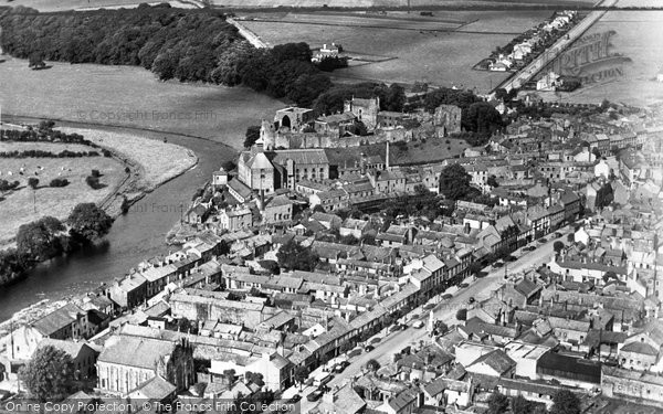 Photo of Cockermouth, Aerial View c.1960