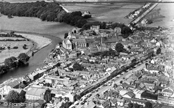 Cockermouth, Aerial View c.1960