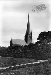 Cockermouth, All Saints Church 1906