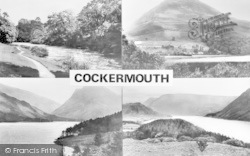 Cockermouth, Composite c.1955