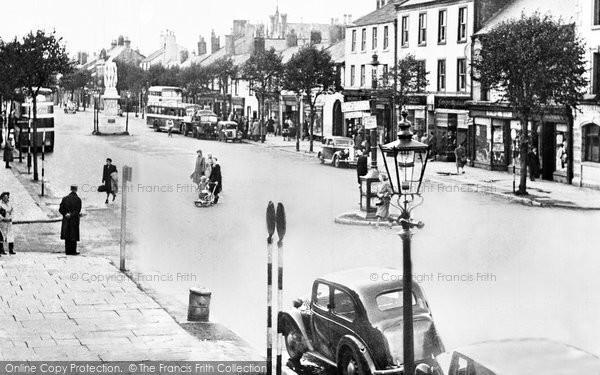 Photo of Cockermouth, Main Street c.1955