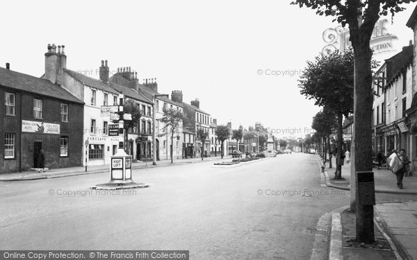 Photo of Cockermouth, Main Street c.1960