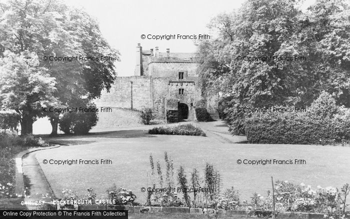 Photo of Cockermouth, The Castle c.1960