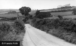 Cocking, Bell Lane c.1955