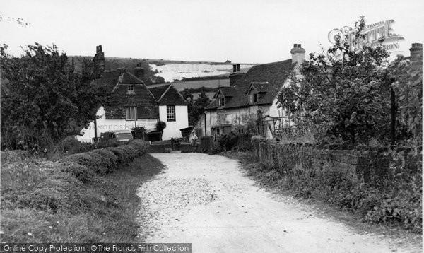 Photo of Cocking, Church Lane c.1955