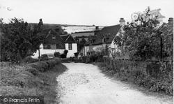 Cocking, Church Lane c.1955