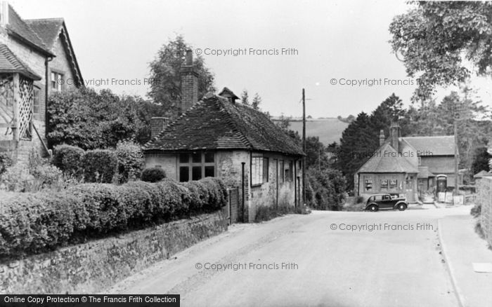 Photo of Cocking, The Village Street c.1955