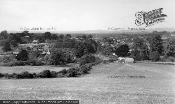 Photo of Cocking, View From The Downs c.1955