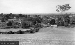 Cocking, View From The Downs c.1955