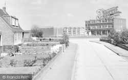 Coggeshall, Honywood County Secondary School And Westfield Drive c.1965