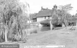 Coggeshall, The Bridge And River c.1965