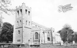 Coggeshall, The Church c.1965