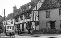 Coggeshall, The Doctors House c.1955