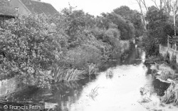 Coggeshall, The River c.1955