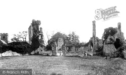 Coity, Castle And Church 1898