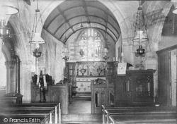 Colan, Church Interior c.1900