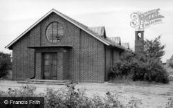 St Cuthbert's Church c.1965, Colburn