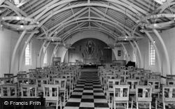 St Cuthbert's Church Interior c.1965, Colburn