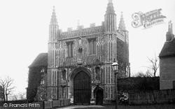 Colchester, Abbey Gateway 1891