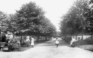 Colchester, Castle Gardens 1904