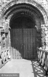 Colchester, Castle, The Main Door c.1960
