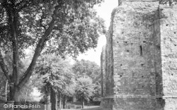 Colchester, Castle, West Side c.1960