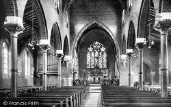 Colchester, Church Of St Mary At The Walls, Interior 1907
