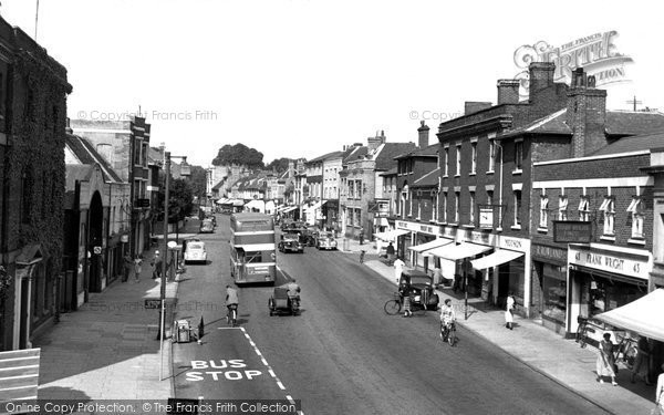 Photo of Colchester, Crouch Street c1955