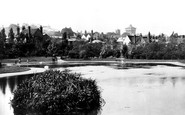 Colchester, From Castle Park 1898