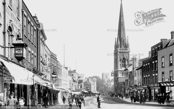Photo of Colchester, High Street 1892