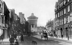 Colchester, High Street 1892