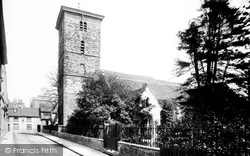 Colchester, Holy Trinity Church 1892