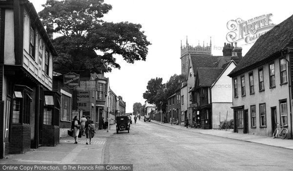 Photo of Colchester, Hythe Hill c.1955