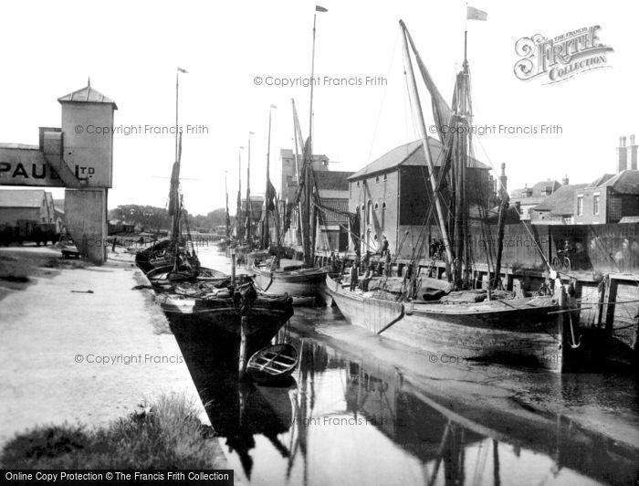 Photo of Colchester, Hythe Quay 1921