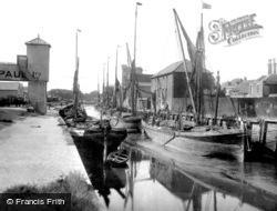 Colchester, Hythe Quay 1921